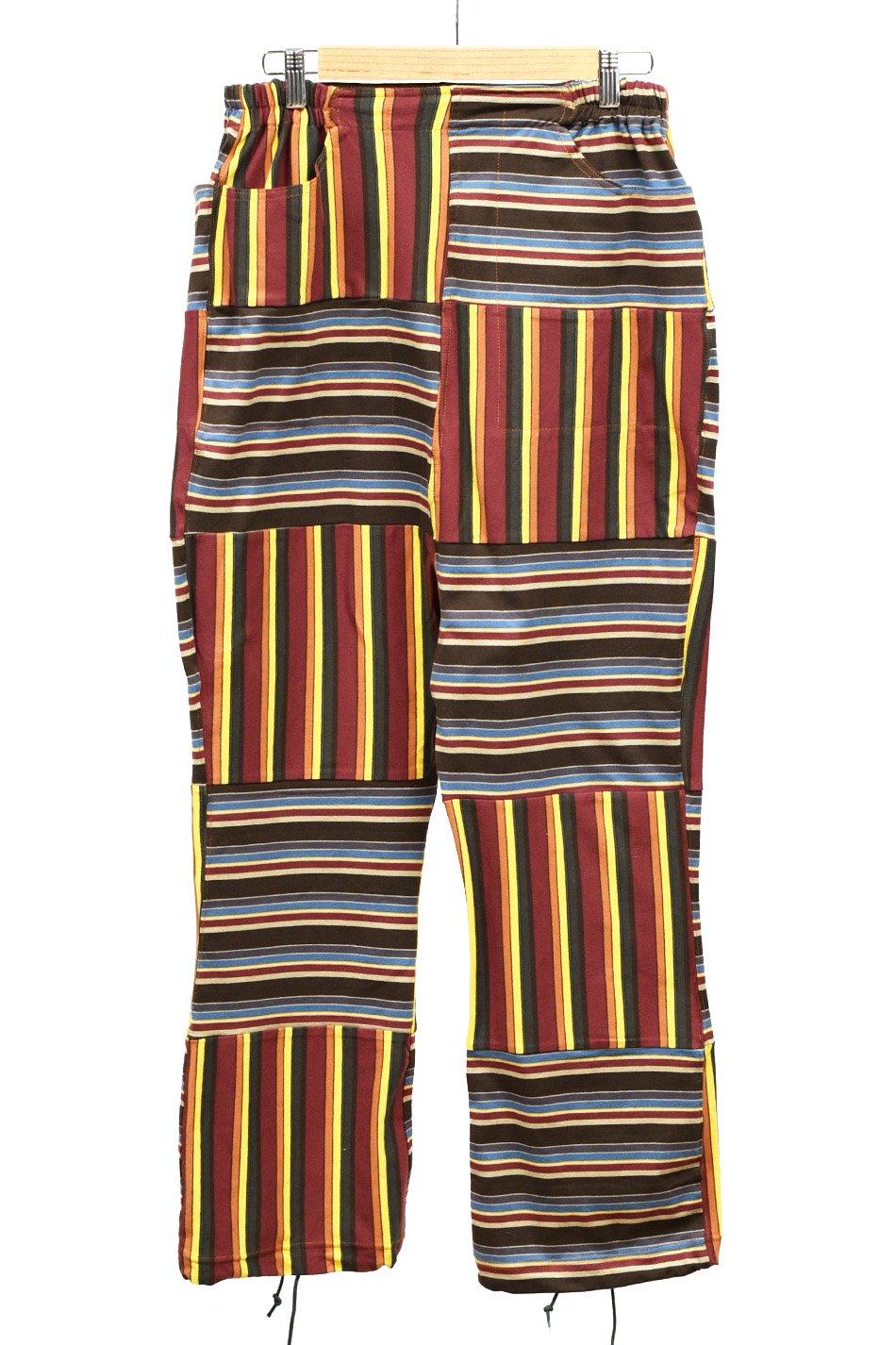 ARIGATO FAKKYU - アリガトファッキュ BORDER HAGI SAROUEL PANTS / MIX