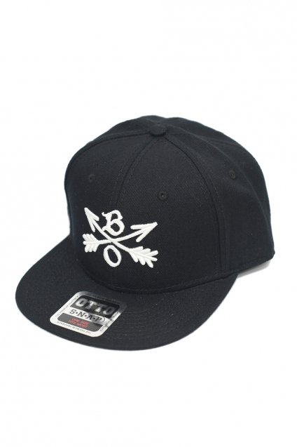 Burnout(バーンアウト)Crossed Arrows Cap / 3D Embroidery / ブラック<img class='new_mark_img2' src='https://img.shop-pro.jp/img/new/icons5.gif' style='border:none;display:inline;margin:0px;padding:0px;width:auto;' />