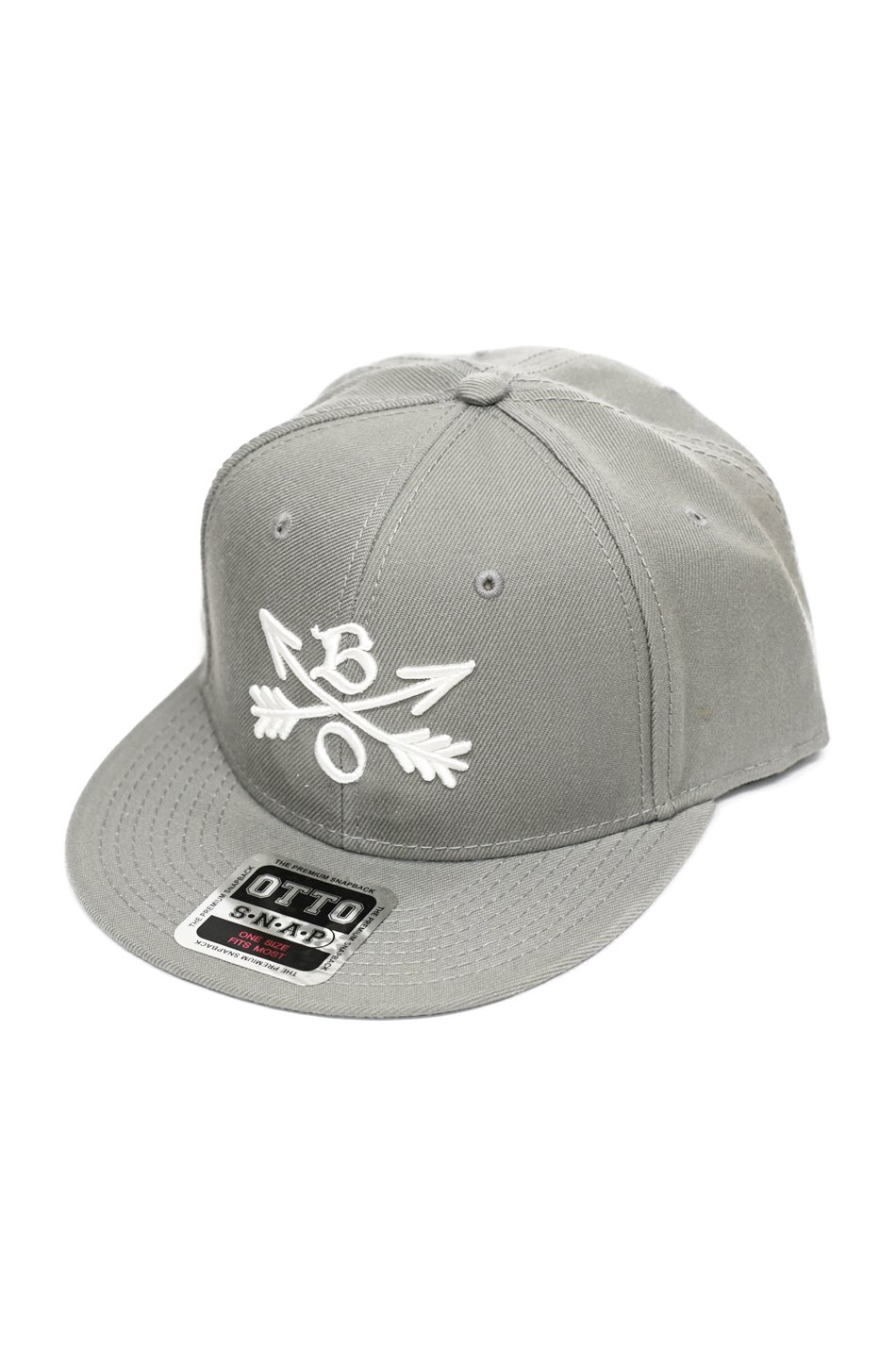 再入荷!Burnout(バーンアウト)Crossed Arrows Cap / 3D Embroidery / グレー<img class='new_mark_img2' src='https://img.shop-pro.jp/img/new/icons59.gif' style='border:none;display:inline;margin:0px;padding:0px;width:auto;' />