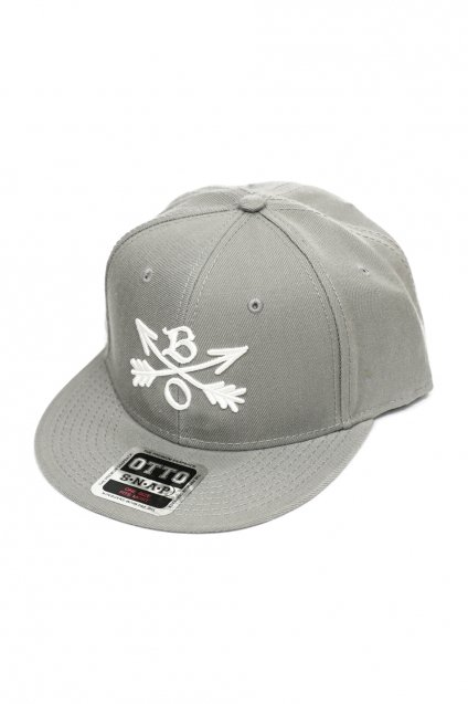 再入荷!Burnout(バーンアウト)Crossed Arrows Cap / 3D Embroidery / グレー