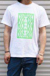 Burnout(バーンアウト) Lightning box pattern Tシャツ / ホワイト