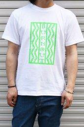 20%off! BURNOUT(バーンアウト) Lightning box pattern Tシャツ / ホワイト