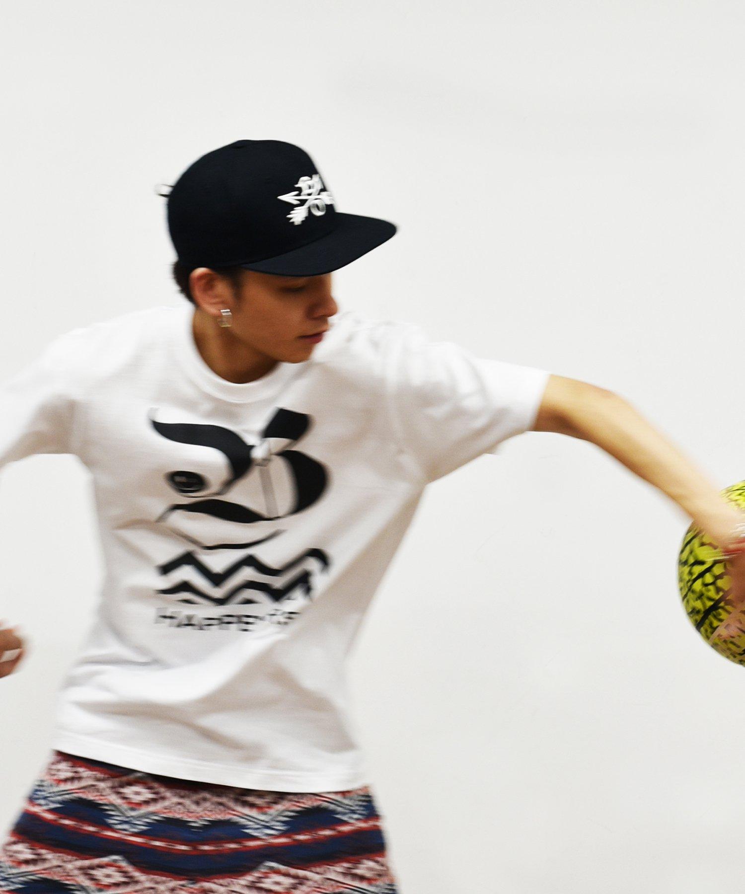 20%off! BURNOUT(バーンアウト)コレクションテーマロゴ Tシャツ / ホワイト