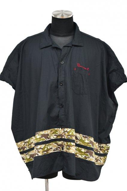 Burnout(バーンアウト)JG限定 ポンチョシャツ / ブラック