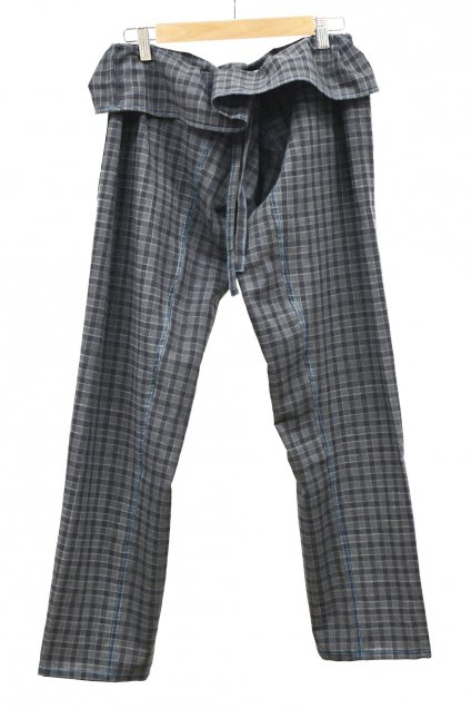 ARIGATO FAKKYU - アリガトファッキュ TAPERED THAI PANTS / GRAY<img class='new_mark_img2' src='https://img.shop-pro.jp/img/new/icons5.gif' style='border:none;display:inline;margin:0px;padding:0px;width:auto;' />