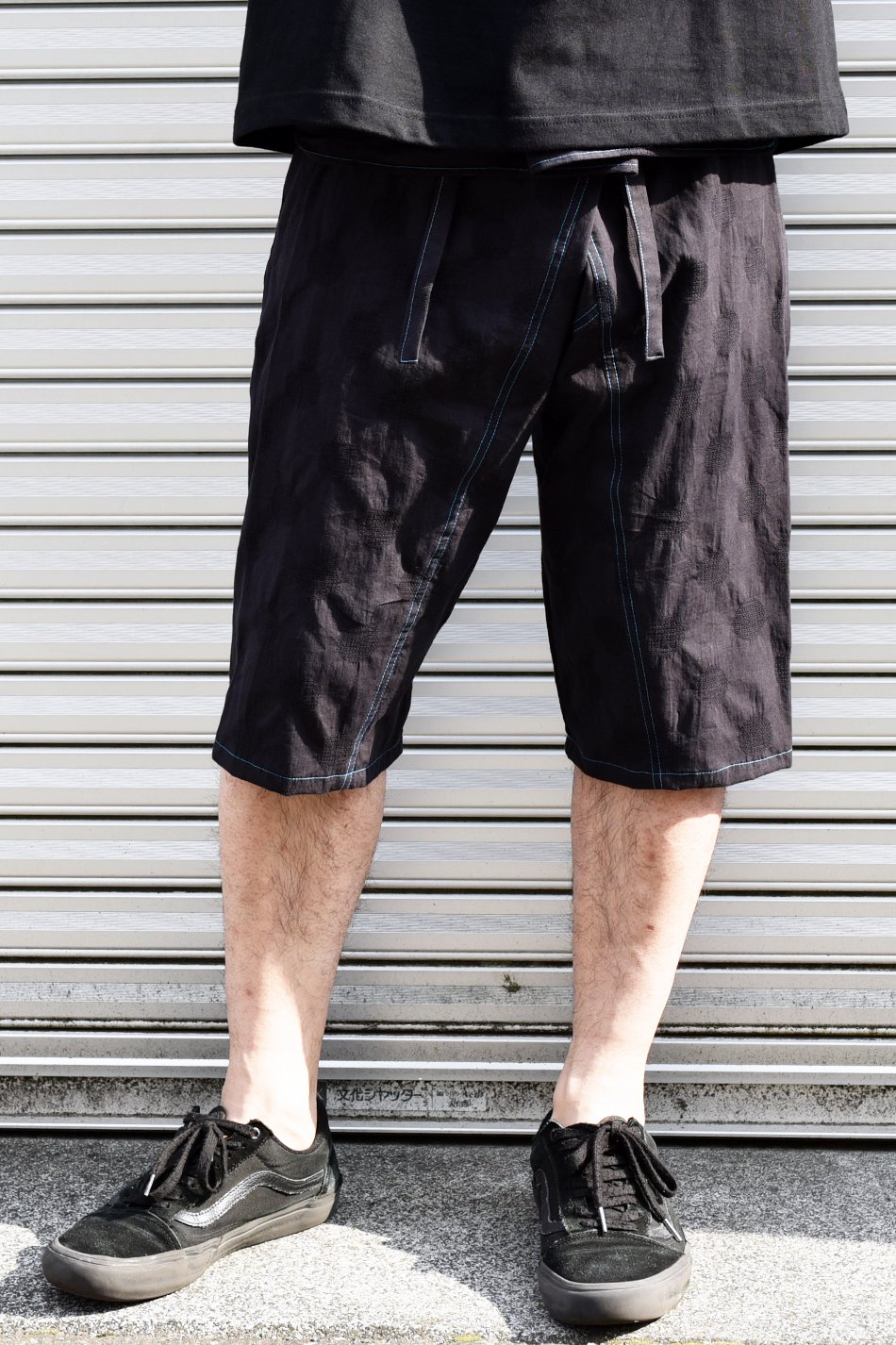 ARIGATO FAKKYU - アリガトファッキュ SHORT THAI PANTS / BLACK<img class='new_mark_img2' src='https://img.shop-pro.jp/img/new/icons5.gif' style='border:none;display:inline;margin:0px;padding:0px;width:auto;' />
