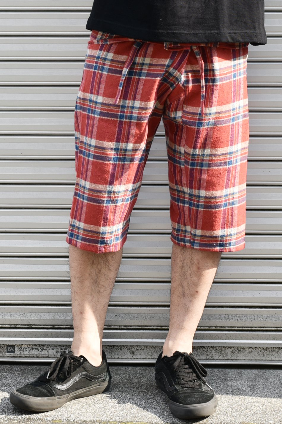 ARIGATO FAKKYU - アリガトファッキュ SHORT THAI PANTS / RED<img class='new_mark_img2' src='https://img.shop-pro.jp/img/new/icons5.gif' style='border:none;display:inline;margin:0px;padding:0px;width:auto;' />