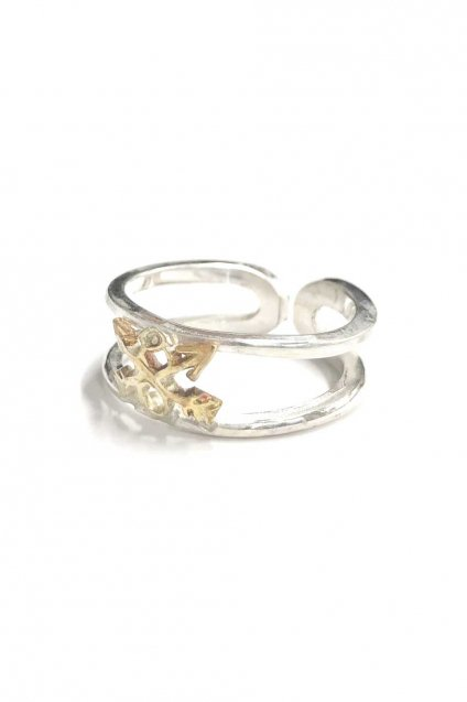 ☆再入荷!!BURNOUT(バーンアウト )Crossed Arrows Layered Ring