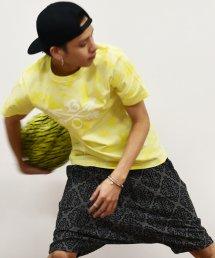 20%off! BURNOUT(バーンアウト)【CROSSED ARROWS】AARTICLES × BURNOUT コラボTシャツ / タイダイイエロー