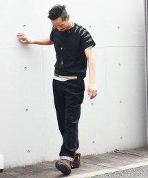 ARIGATO FAKKYU - アリガトファッキュ EMBROIDERY SWEAT / BLACK