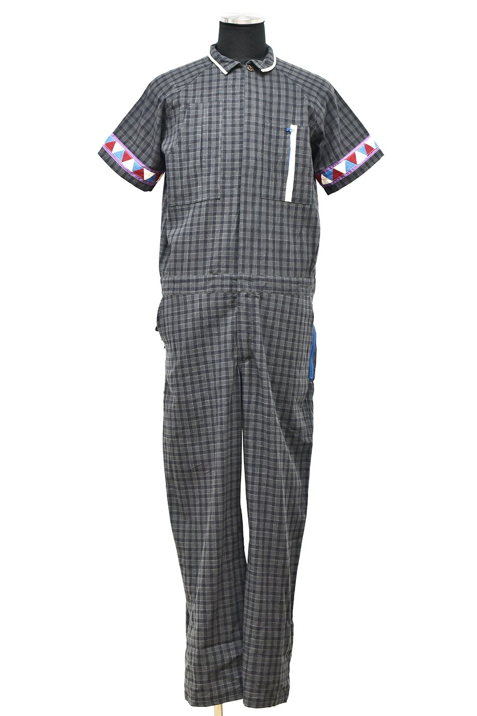 ARIGATO FAKKYU - アリガトファッキュ S/S OVERALL / GRAY<img class='new_mark_img2' src='https://img.shop-pro.jp/img/new/icons5.gif' style='border:none;display:inline;margin:0px;padding:0px;width:auto;' />