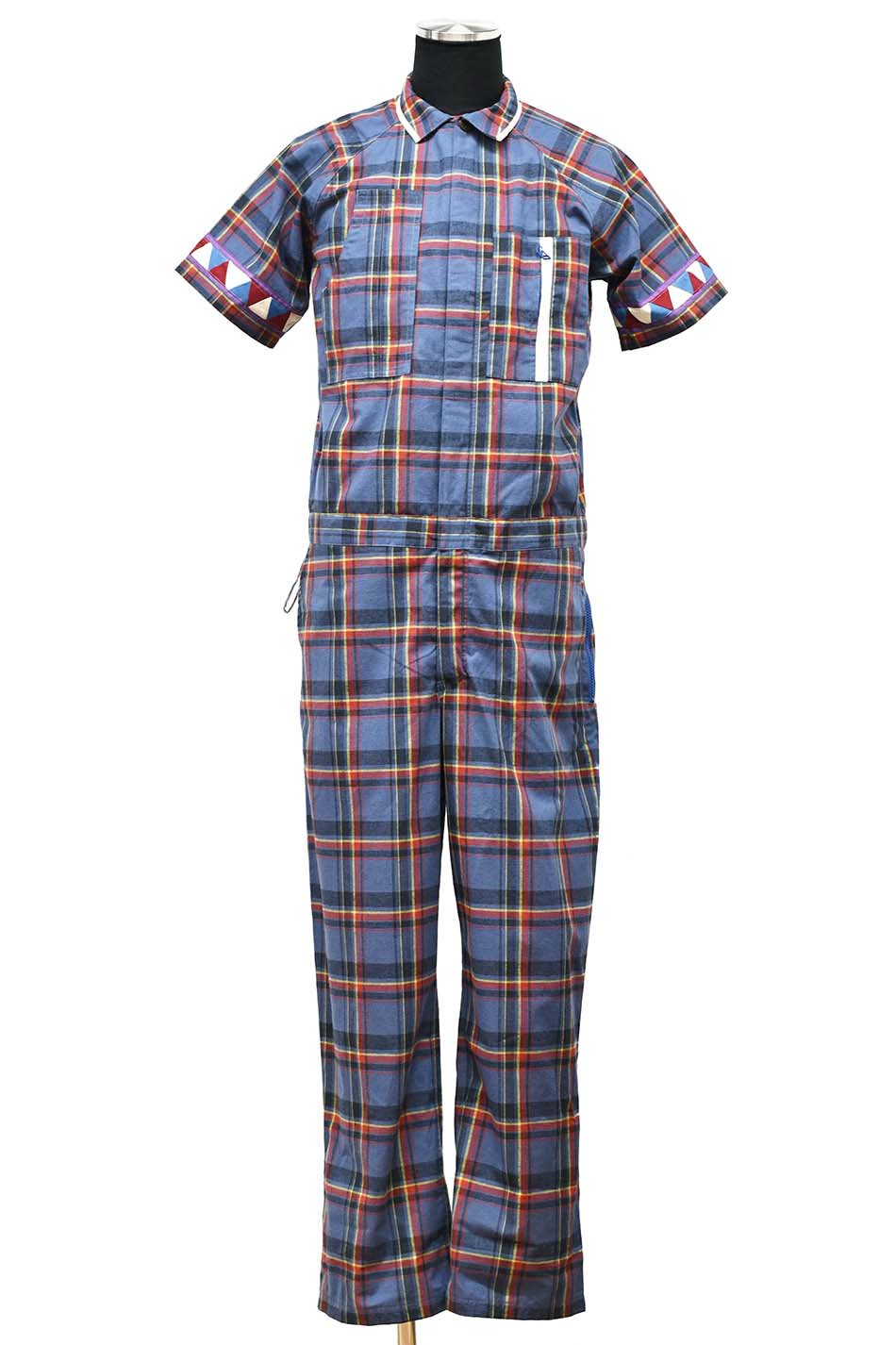 40%off! ARIGATO FAKKYU - アリガトファッキュ S/S OVERALL / NAVY