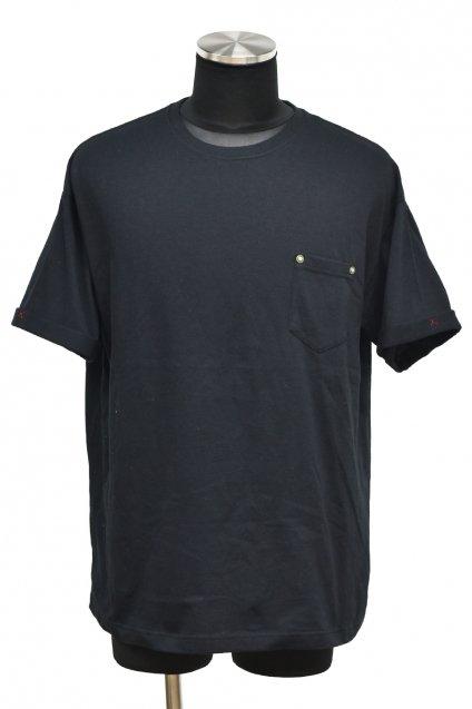 ★受注生産予約 【T-Shirt FES】BURNOUT(バーンアウト)ポケット付きビッグTシャツ / ブラック<img class='new_mark_img2' src='https://img.shop-pro.jp/img/new/icons5.gif' style='border:none;display:inline;margin:0px;padding:0px;width:auto;' />