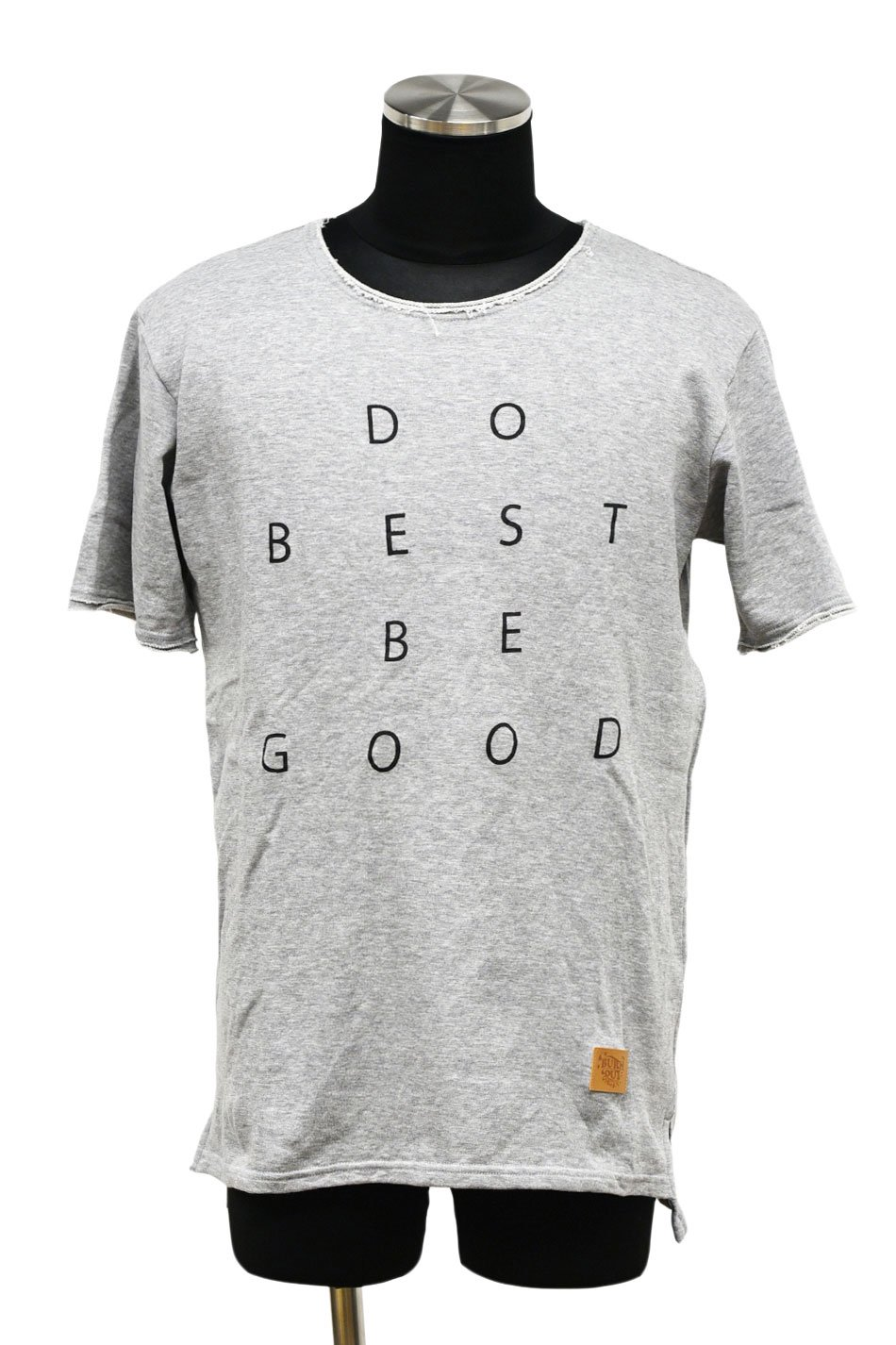 【JG限定】BURNOUT(バーンアウト )【DO BE】ショートスリーブカットソー / グレー×ブラック
