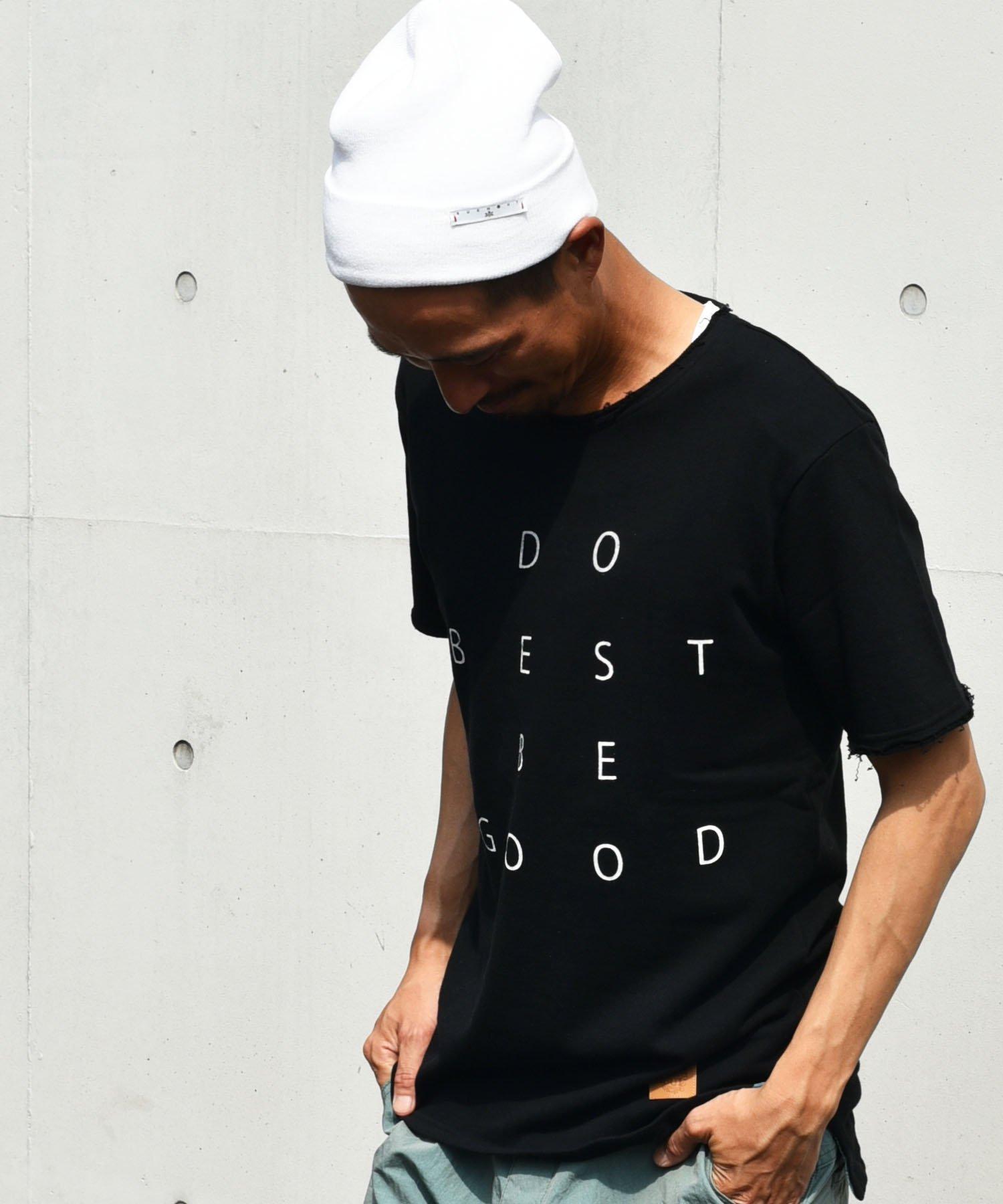 BURNOUT(バーンアウト )【DO BE】ショートスリーブカットソー / ブラック