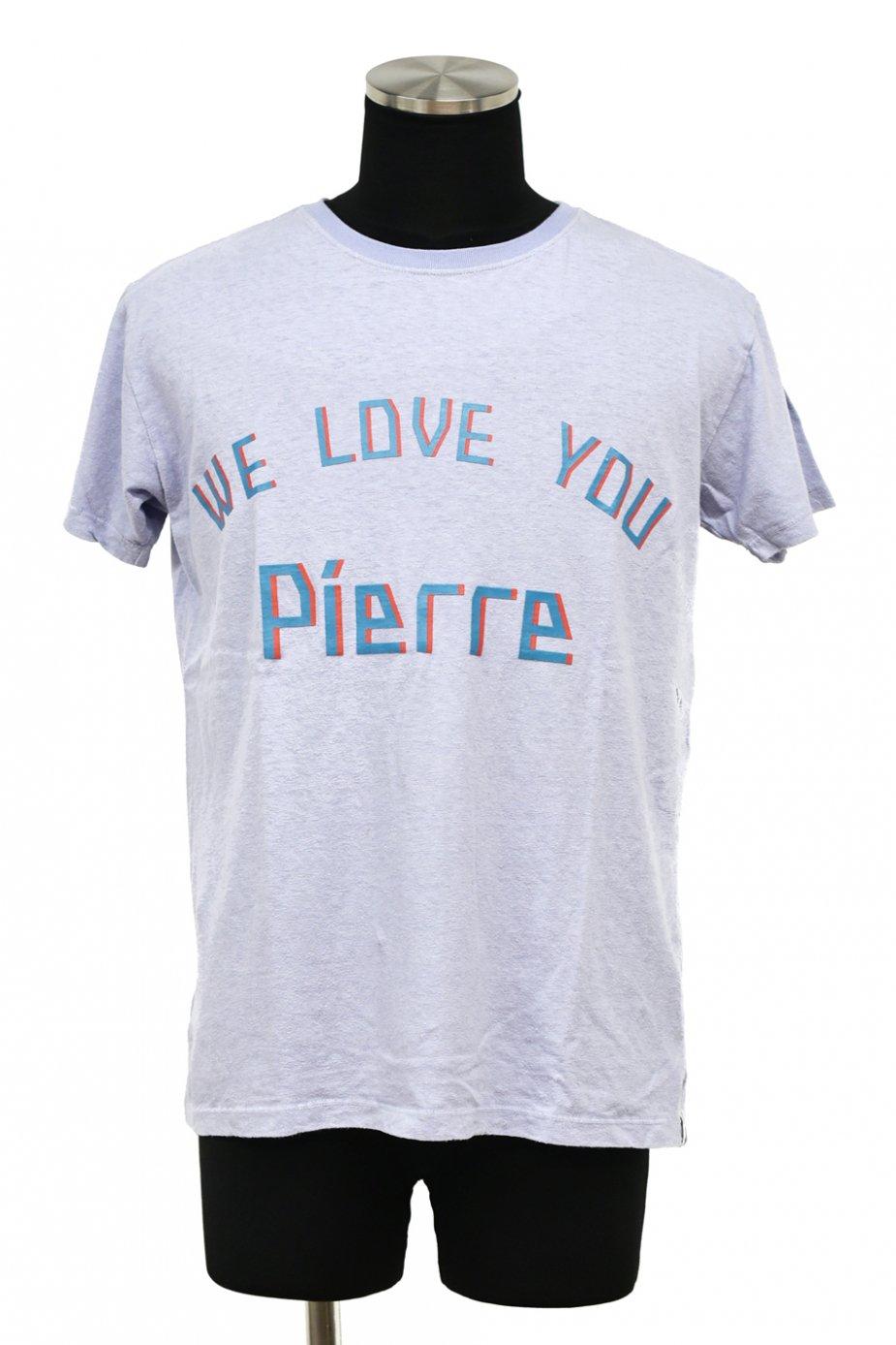 10%off! ARIGATO FAKKYU - アリガトファッキュ HEMP-T - WE LOVE YOU Pierre - / BLUE PURPLE
