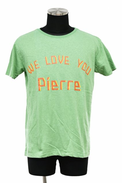 10%off! ARIGATO FAKKYU - アリガトファッキュ HEMP-T - WE LOVE YOU Pierre - / GREEN