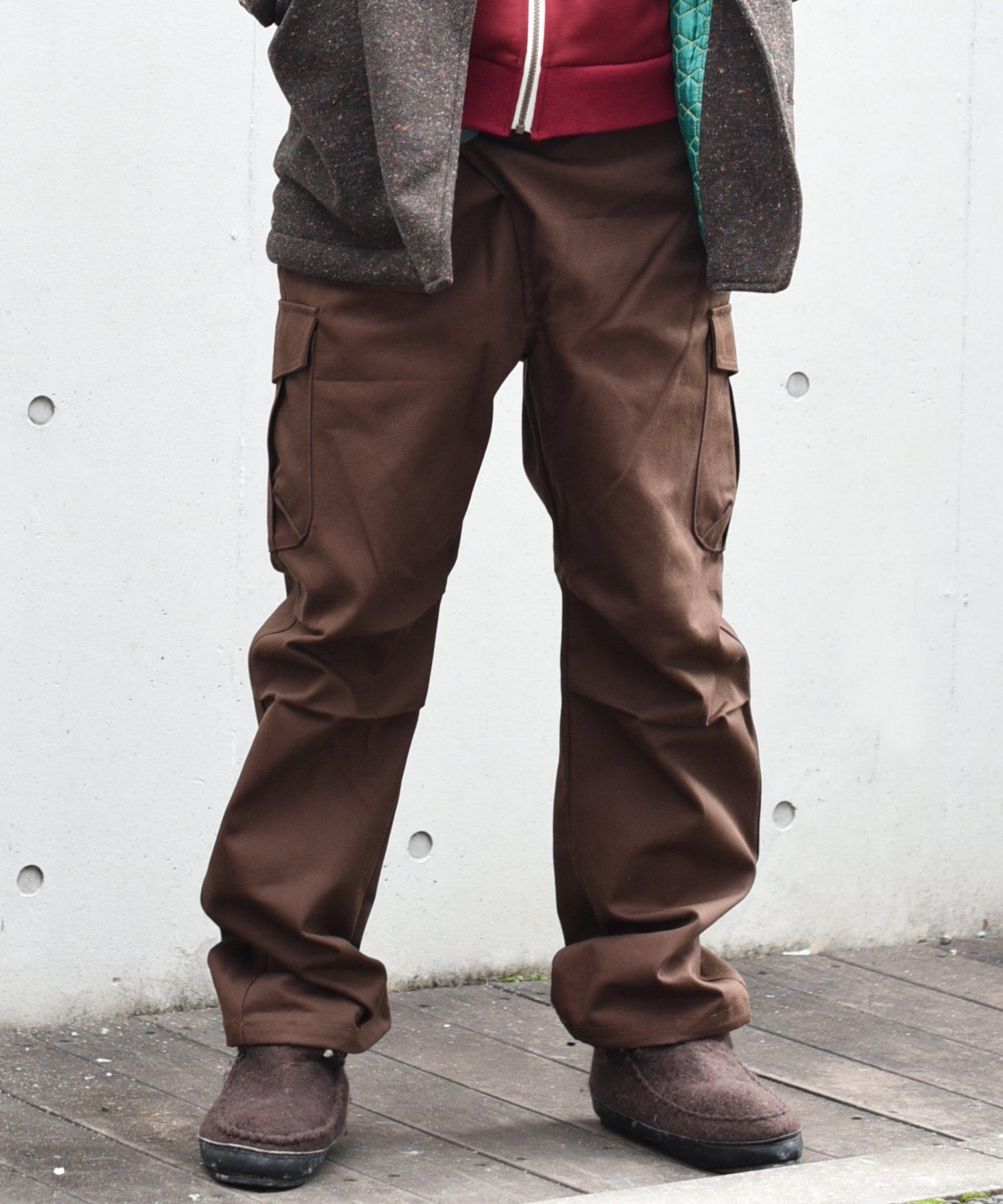 ARIGATO FAKKYU - アリガトファッキュ CARGO PANTS / BROWN