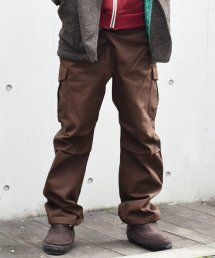 ARIGATO FAKKYU - アリガトファッキュ CARGO PANTS / BROWN<img class='new_mark_img2' src='https://img.shop-pro.jp/img/new/icons5.gif' style='border:none;display:inline;margin:0px;padding:0px;width:auto;' />