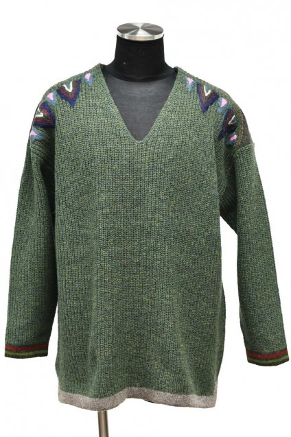 ARIGATO FAKKYU - アリガトファッキュ SWEATER / GREEN<img class='new_mark_img2' src='https://img.shop-pro.jp/img/new/icons5.gif' style='border:none;display:inline;margin:0px;padding:0px;width:auto;' />