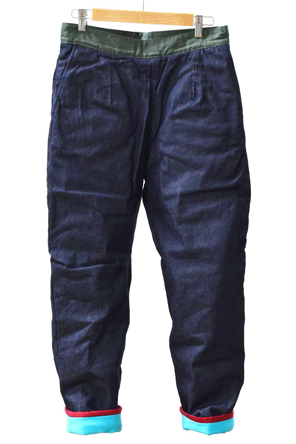 ARIGATO FAKKYU - アリガトファッキュ PADDING PANTS /  ONE WASH<img class='new_mark_img2' src='https://img.shop-pro.jp/img/new/icons5.gif' style='border:none;display:inline;margin:0px;padding:0px;width:auto;' />