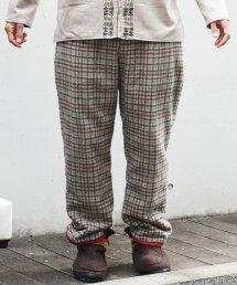 ARIGATO FAKKYU - アリガトファッキュ PADDING PANTS /  PLAID