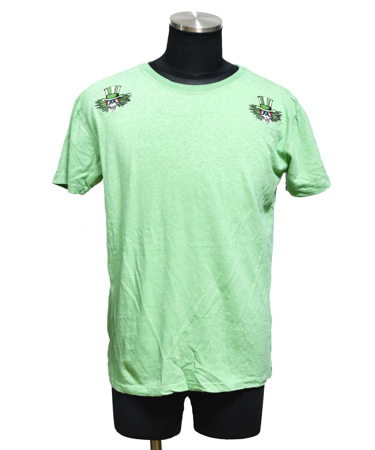 ARIGATO FAKKYU - アリガトファッキュ HEMP TEE-T CAPTAIN TRIP / GREEN<img class='new_mark_img2' src='https://img.shop-pro.jp/img/new/icons5.gif' style='border:none;display:inline;margin:0px;padding:0px;width:auto;' />