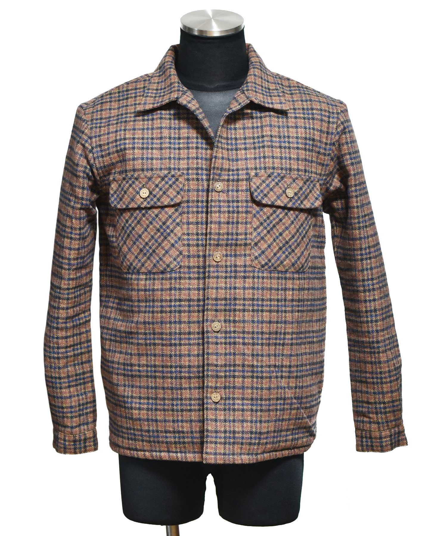 ARIGATO FAKKYU - アリガトファッキュ SHIRT JACKET / BROWN<img class='new_mark_img2' src='https://img.shop-pro.jp/img/new/icons5.gif' style='border:none;display:inline;margin:0px;padding:0px;width:auto;' />