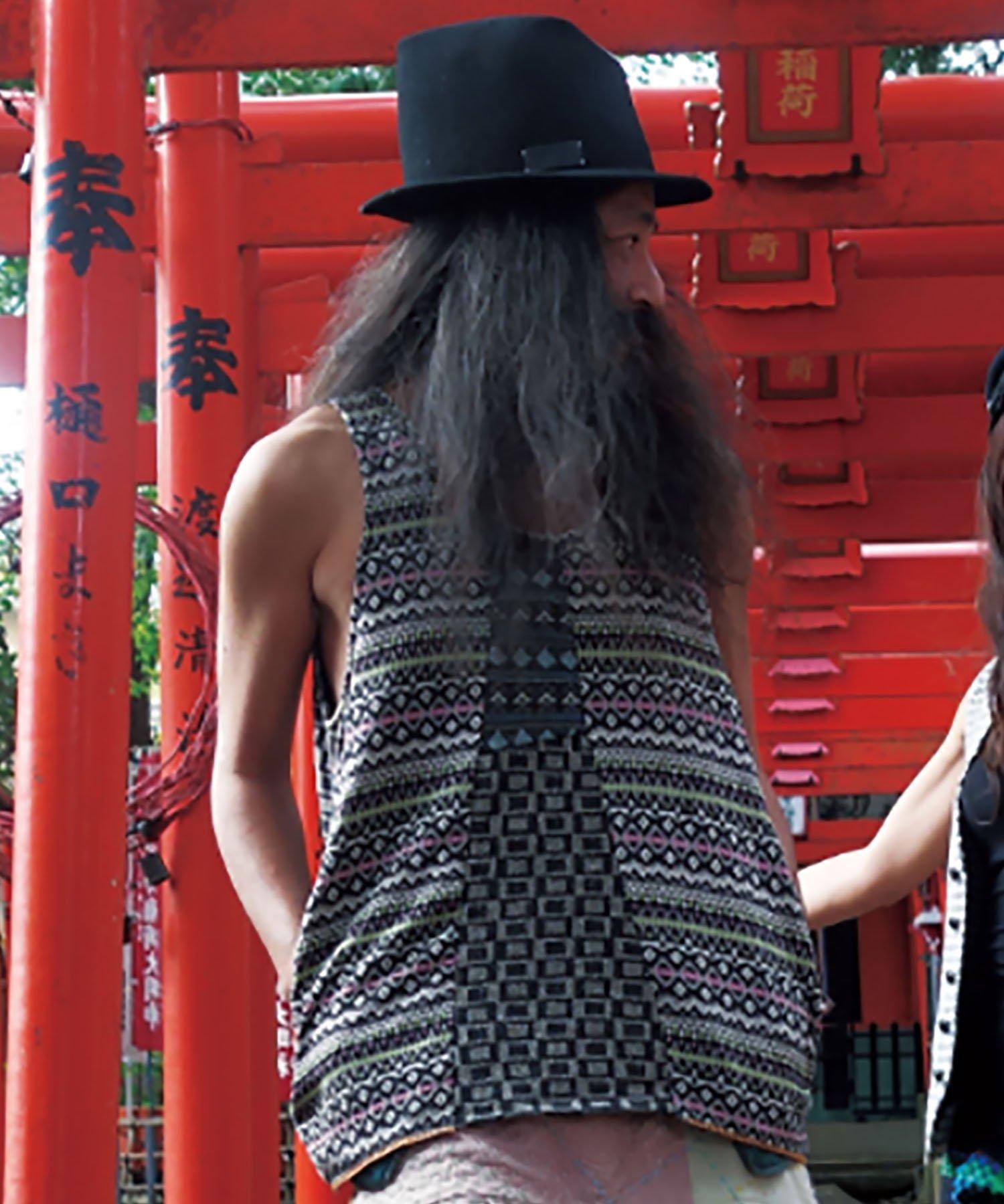 ARIGATO FAKKYU - アリガトファッキュ TANK TOP / MATCHA GREEN / PINK