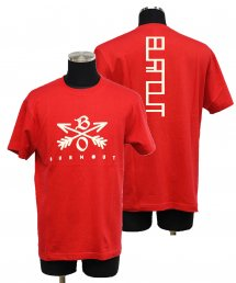 Burnout(バーンアウト) Crossed Arrows T-Shirt 2020 / レッド