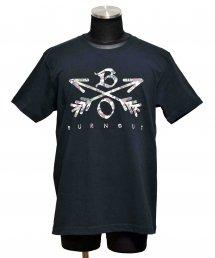 Burnout(バーンアウト) Camouflage Crossed Arrows T-Shirt 2020 / ブラック