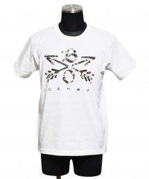 Burnout(バーンアウト) Camouflage Crossed Arrows T-Shirt 2020 / ホワイト