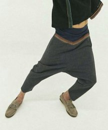 【6周年感謝祭 50%off!】ARIGATO FAKKYU - アリガトファッキュ HARAMAKI SARROUEL PANTS / BLUE NAVY