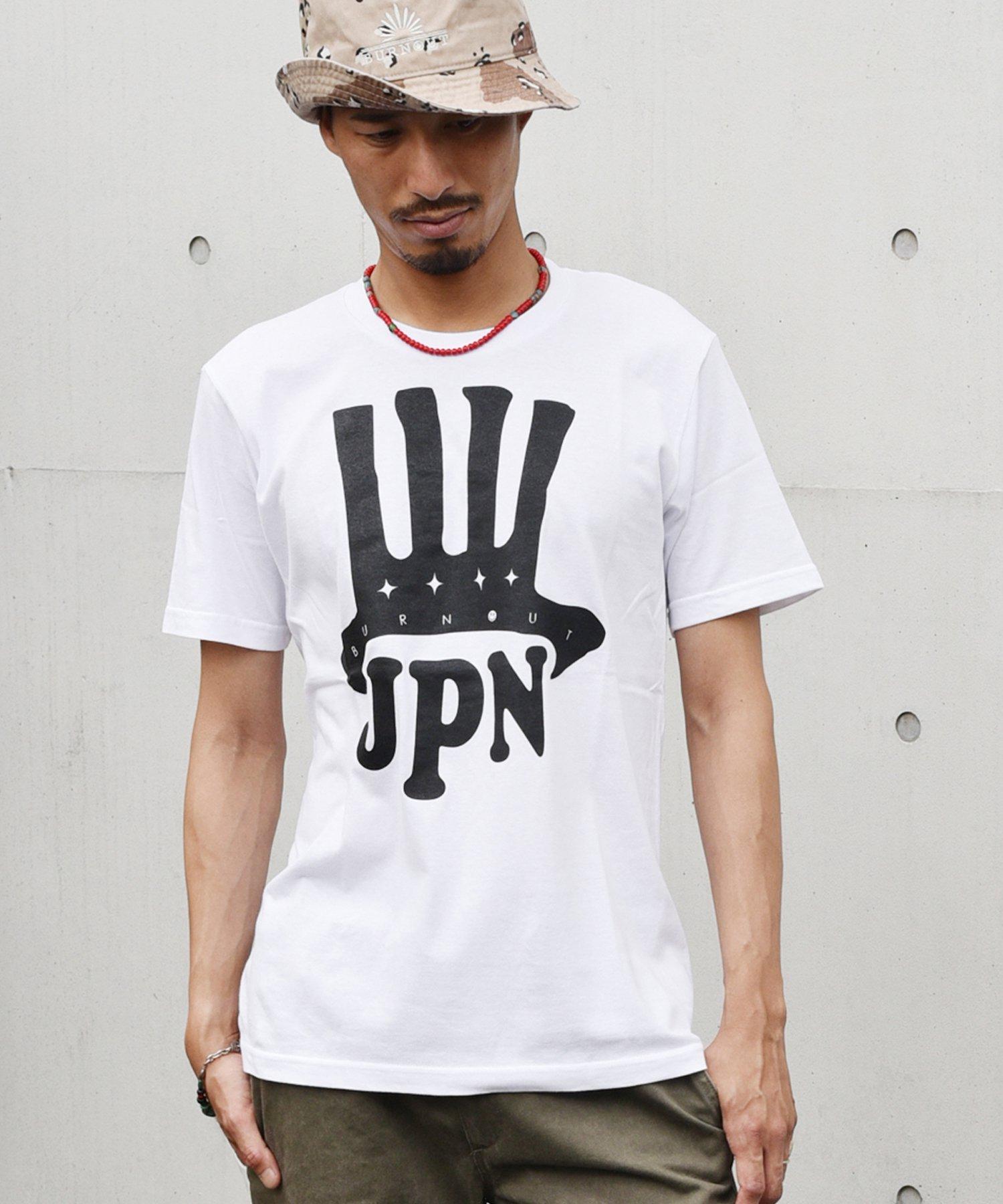 <img class='new_mark_img1' src='https://img.shop-pro.jp/img/new/icons15.gif' style='border:none;display:inline;margin:0px;padding:0px;width:auto;' />Burnout(バーンアウト) JPN T-shirt / ホワイト