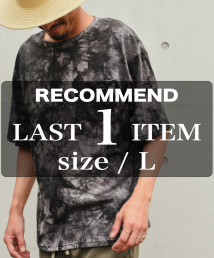 <img class='new_mark_img1' src='https://img.shop-pro.jp/img/new/icons15.gif' style='border:none;display:inline;margin:0px;padding:0px;width:auto;' />Burnout(バーンアウト) ビッグシルエット tie-dye Tee PK.T-shirts(ブラック)