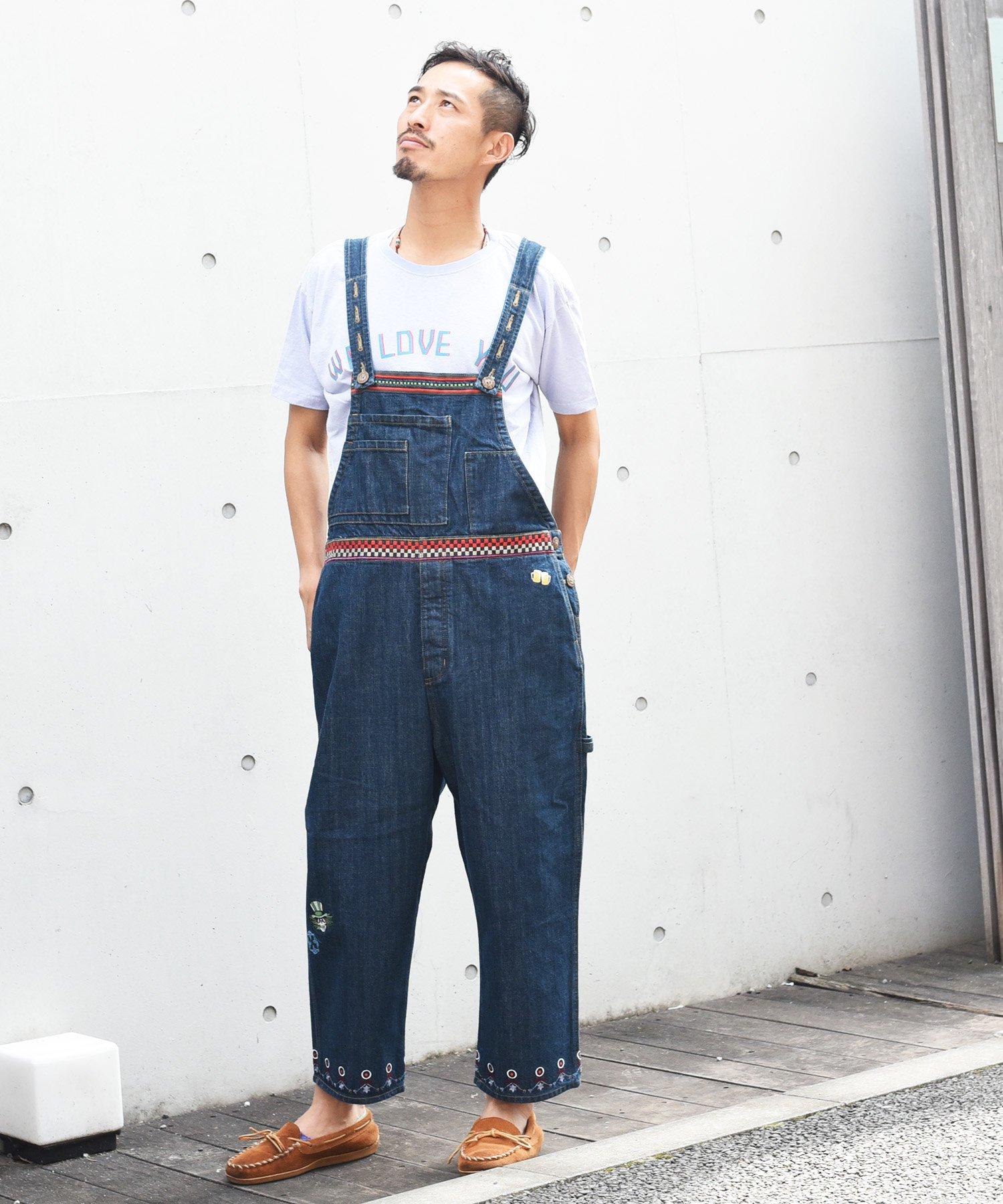 ARIGATO FAKKYU - アリガトファッキュ OVERALL / INDIGO