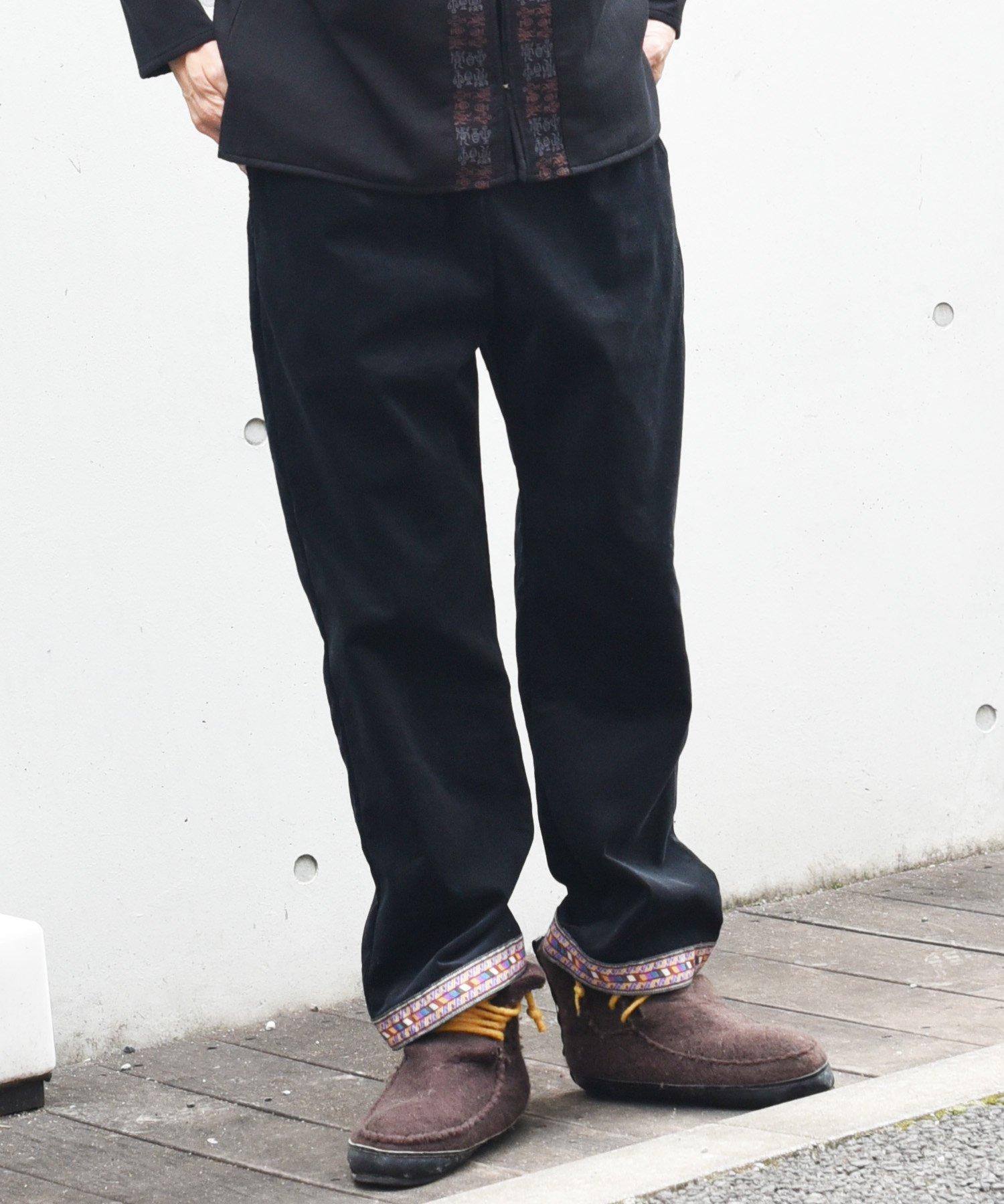 【6周年感謝祭 50%off!】ARIGATO FAKKYU - アリガトファッキュ  Velcro pants / 4 colors