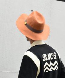 Burnout〔バーンアウト〕 ロングブリムHAT(Orange)
