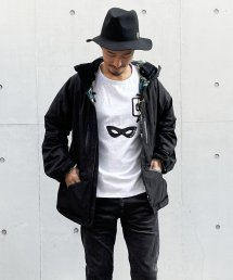 Burnout〔バーンアウト〕 『20/21 Early Spring Collection』 シェルパーカー(Black)
