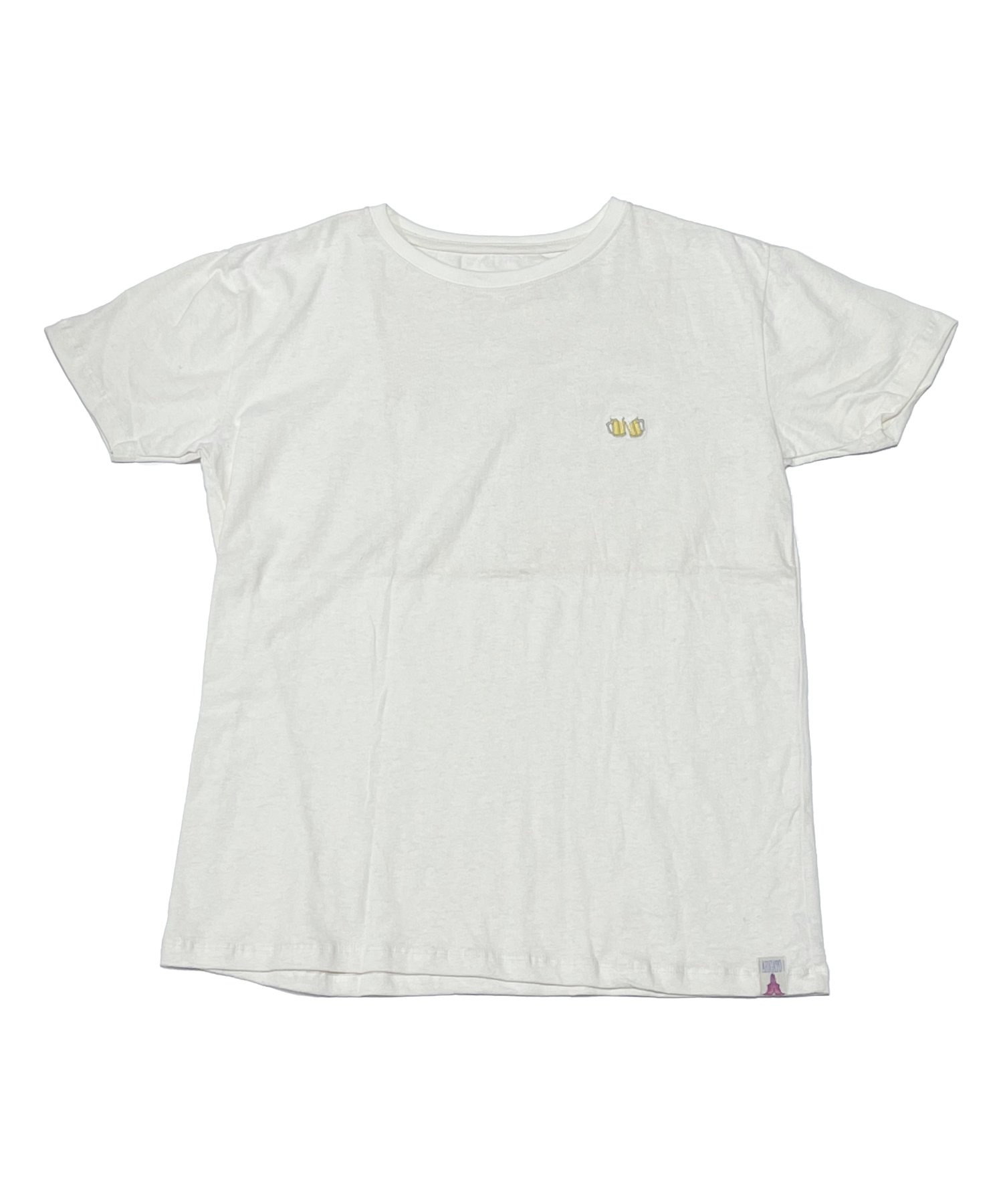 ARIGATO FAKKYU〔アリガトファッキュ〕 HEMP COTTON Tee POINT刺繍(6 colors)