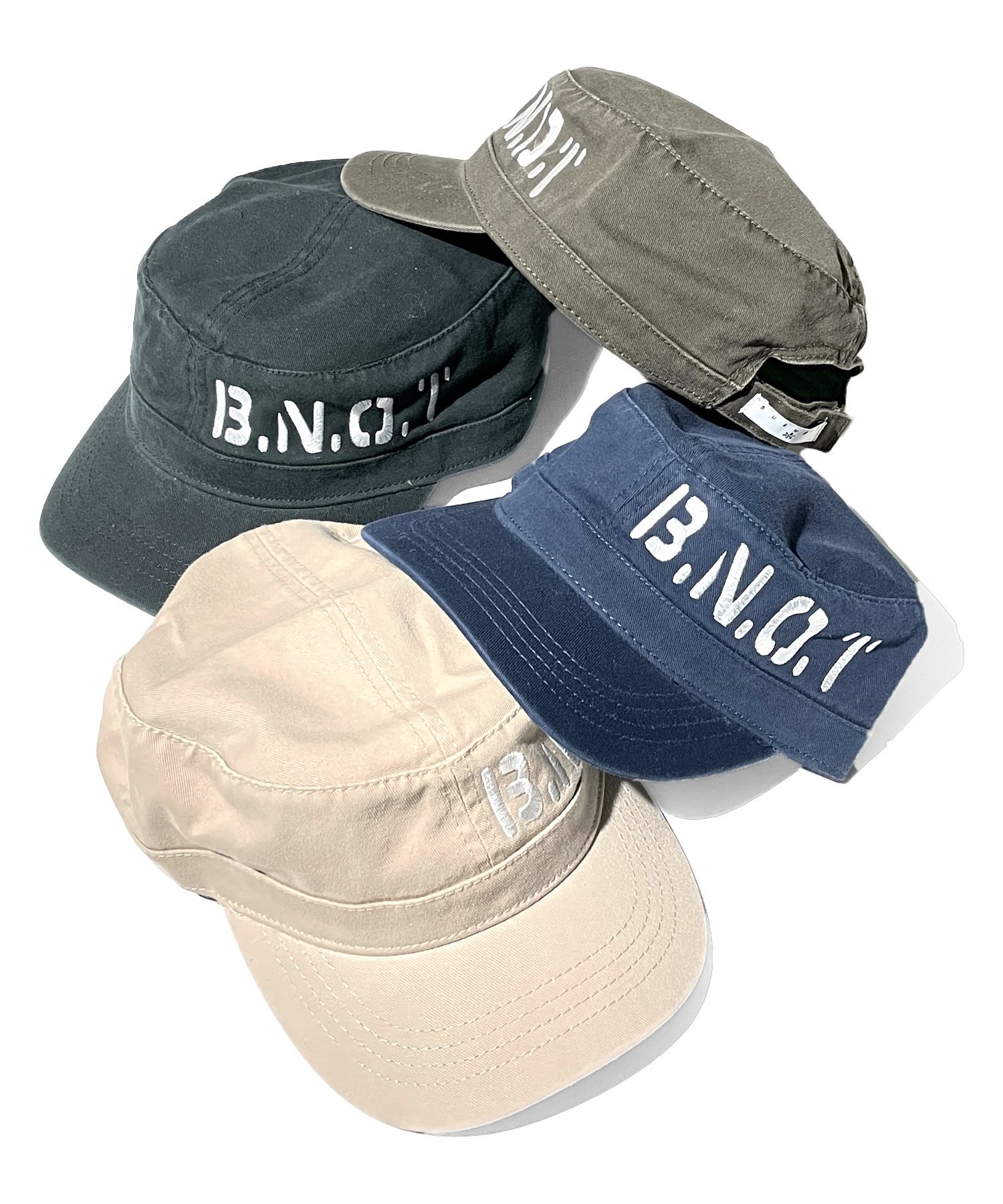Burnout〔バーンアウト〕 『21' early summer collection』 ワーク CAP(4 colors)