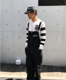 <img class='new_mark_img1' src='https://img.shop-pro.jp/img/new/icons15.gif' style='border:none;display:inline;margin:0px;padding:0px;width:auto;' />Burnout〔バーンアウト〕 『21' early summer collection』 フロントジップ オーバーオール(Black)