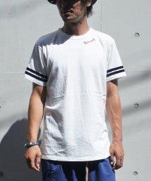 Burnout〔バーンアウト〕 ベロアラインTシャツ(White)