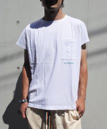Burnout〔バーンアウト〕 ノースリーブビッグTシャツ(White)