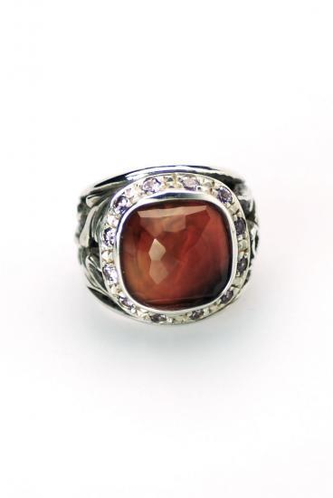 SAHRIVAR(シャフリーヴァル)Maria's Heart Ring(レッドアゲート)/ 7号 , 8号