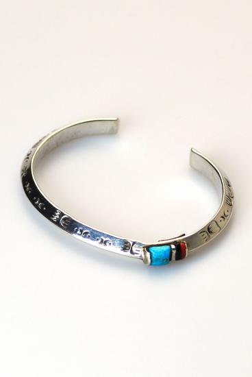 PIKEY(パイキー)Orbit Stones Bangle(Silver925)