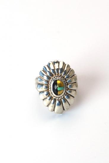 ★受注生産予約 PIKEY(パイキー)Stones Concho Ring(Silver925)