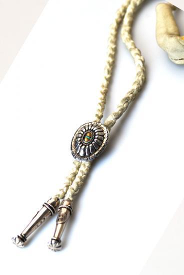 ★受注生産予約 PIKEY(パイキー)Chief Stones Loop Tie(Silver925)