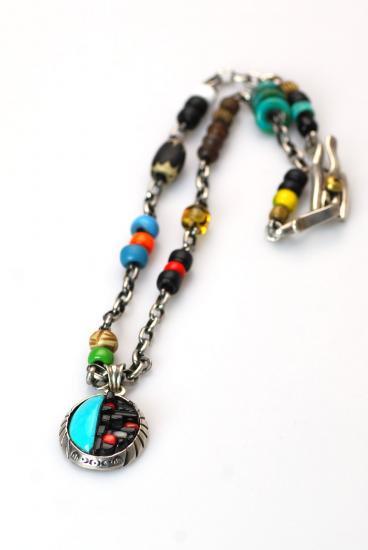 ★受注生産予約 PIKEY(パイキー)Oval Block Necklace(Silver925)