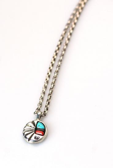 ★受注生産予約 PIKEY(パイキー)Three Stone Leaf Necklace(Silver925)